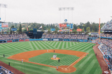 dodger stadium baseball